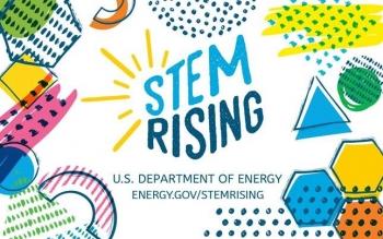 STEM Rising K-12 banner