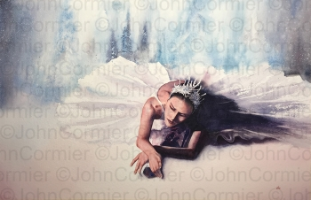 """""""Snow Queen"""" by John Cormier. Reproduced with permission."""