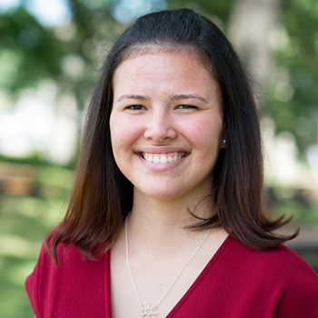 During her internship, Betmarie Matos Vazquez looked at nanostructures and etching processes to improve X-ray optics and X-ray astronomy. She hopes more students will discover the opportunities that national lab internships provide.