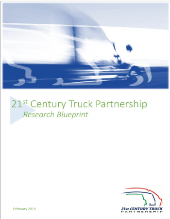 Cover of 21st Century Truck Research Blueprint