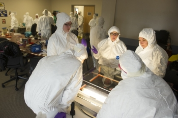 INL students at STEM outreach events.
