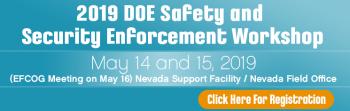 DOE Enforcement Workshop Registration Link