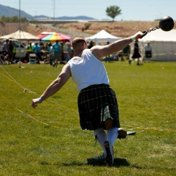56lb Heavy Weight for Distance throw at the Rio Grande Valley Celtic Festival & Highland Games in Albuquerque, NM.