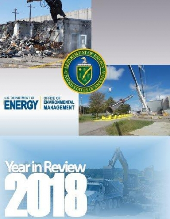 2018 Year in Review Report Cover