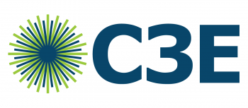 Logo for the Clean Energy Education and Empowerment (C3E) Initiative.