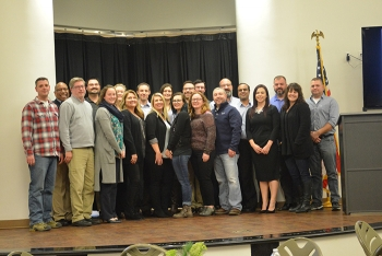 Recent graduates of the Supporting Talent & Engaging Professionals for Success (STEPS) program are shown.