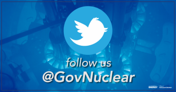 Follow us at Twitter at @GovNuclear