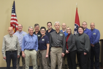 """First 100 Minutes"" course instructors, Radiological Assistance Program personnel, and team members from the Radiation Emergency Assistance Center/Training Site."