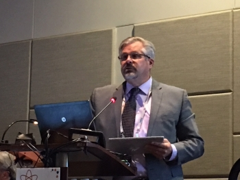 National Transuranic Program Manager Mark Pearcy of Nuclear Waste Partnership,  provided an overview of the WIPP Waste Acceptance Criteria during a presentation to the 2019 Waste Management Symposia.
