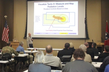 """NNSA's """"Planning for the First 100 Minutes"""" training course for first responders at Y-12 National Security Campus"""