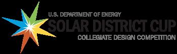 Solar District Cup horizontal logo