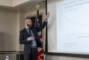 Colin Sanders of Pacific Northwest National Laboratory discusses how building a professional network can increase your chances for a promotion.