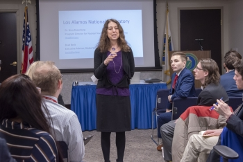 Dr. Nina Rosenberg describes life and work at Los Alamos National Laboratory.