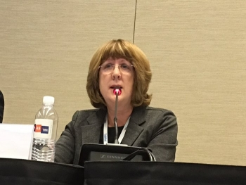 Betsy Connell, Associate Principal Deputy Assistant Secretary for Regulatory and Policy Affairs, outlined EM's efforts to maintain and strengthen relationships with states, tribes, regulatory agencies and other stakeholders.
