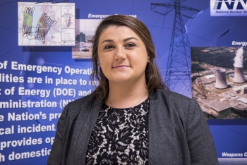 NNSA Graduate Fellow Zoe Chicketti