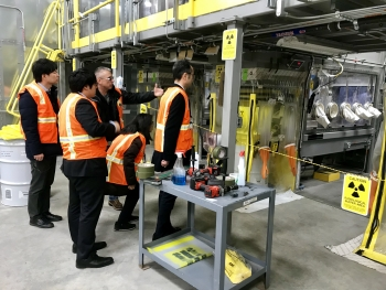 EM and cleanup contractor Fluor Idaho recently hosted a tour at the Idaho National Laboratory (INL) Site for Japanese engineers helping with the ongoing cleanup of the 2011 Fukushima Daiichi nuclear reactor accident.