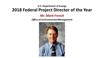 2018 Federal Project Director of the Year