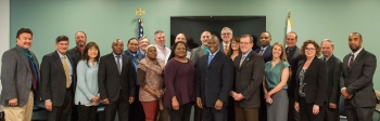 attendees from the 2018 veterans success workshop