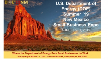 DOE Summer '19 New Mexico Small Business Expo Logo