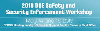 2019 Safety and Security Enforcement Workshop