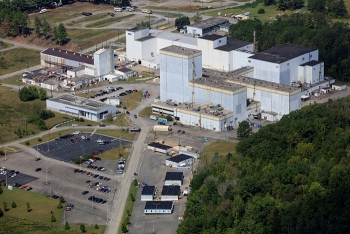 The Centrifuge Complex includes some of the largest and most recognizable structures remaining at the East Tennessee Technology Park, including a 180-foot-high facility, the site's tallest structure.