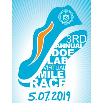 The DOE Mile 2019 logo