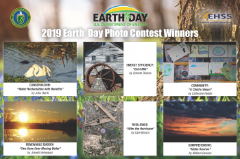 Winners of the 2019 Earth Day Photo Contest