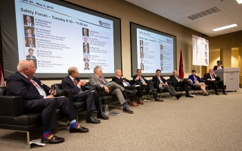 Industry leaders participate in Safety Fest TN's Safety Forum.