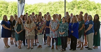 Recipients of UCOR's 2019 mini-grants to local schools gather for a photo.