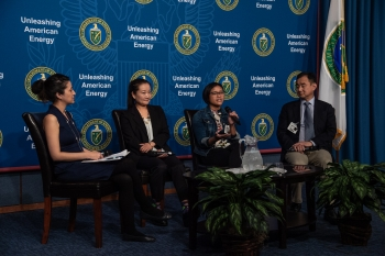 Asian American Pacific Islander Network event at the Energy Department