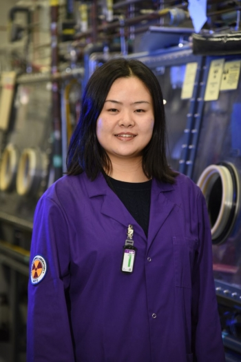 Xie, a native of southern China and a legal permanent resident of the United States, earned her doctorate in nuclear engineering at the Ohio State University and a bachelor's degree in nuclear engineering at University of Science and Technology of China.