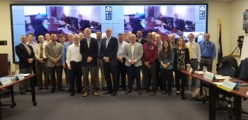 The Spent Nuclear Fuel Working Group, which includes representatives from DOE programs and sites that manage SNF, met in March 2019 at the Savannah River National Laboratory (SRNL) to discuss SNF challenges.