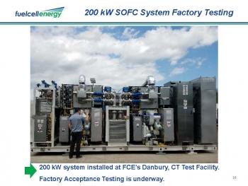 Fuel Cell 200 kW Prototype