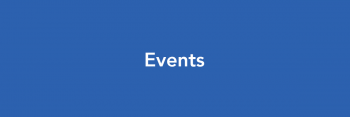 Text that reads: Events