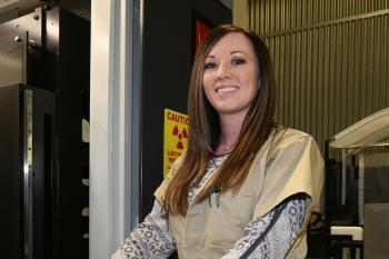Kristin Gibson of the Pantex Plant.