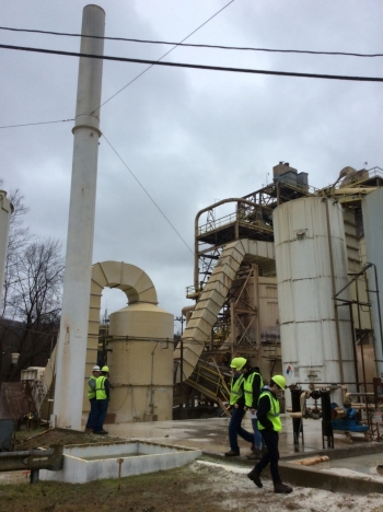 PennTAP onsite visit a U.S. Silica plant