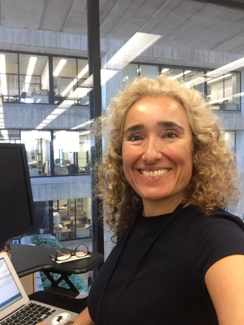 Simona Rolli works at the Office of Science
