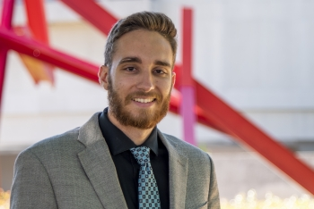 Cameron Douglas, an NNSA Graduate Fellow supporting Defense Programs.