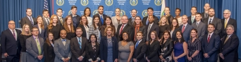 The 2019 NGFP class with NNSA and Pacific Northwest National Laboratory (PNNL) leadership.