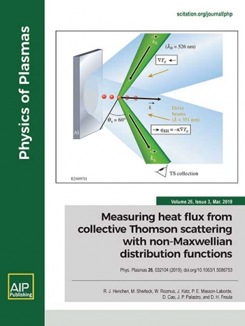 In the regimes where classical theory breaks down for measuring heat flux in plasma, a team determined electron distribution functions — consistent with nonlocal thermal transport — use the measured collective Thomson-scattering spectrum.