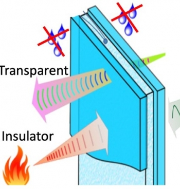 An insulating gel made from food waste that increases energy efficiency of windows: CU-Boulder