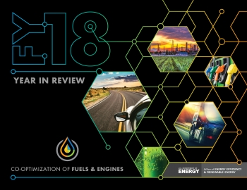 The Co-Optima FY18 Year in Review report spotlights the initiative's advances in engine and fuel innovation.
