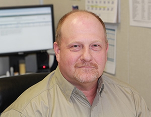 Eric Mickelsen, Fluor Idaho's radiation protection program manager for the Idaho National Laboratory Site.