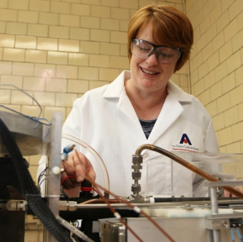 Julie Slaughter is a scientist at Ames Lab.