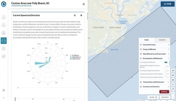 Geospatial resource mapping tools that track macroalgae aquacultures and ocean resources: National Oceanic and Atmospheric Administration