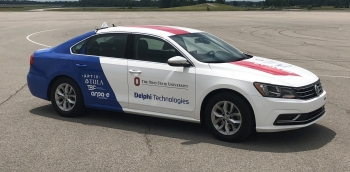 Ohio State's ECOCar on display
