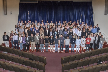 Nearly 1,000 users a year collaborate on research at RHIC to learn more about the quark-gluon plasma. They gather at a yearly user meeting to share their results and visions for future research.