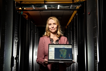 Erin Barker works at the Pacific Northwest National Laboratory