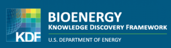 a screenshot of the bioenergy Knowledge discovery framework banner image