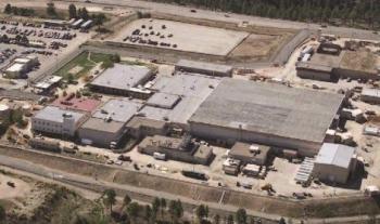 Plutonium Facility 4 (PF-4) at Los Alamos National Laboratory